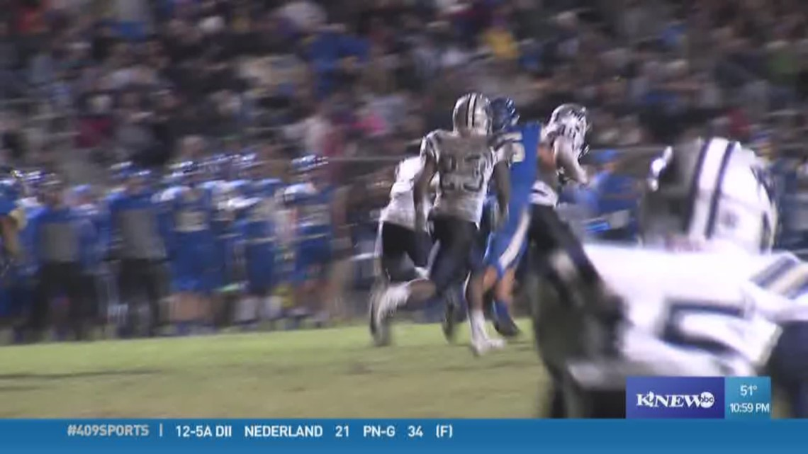 WEEK 11: West Orange-Stark High School's Tyrone Brown makes the Play of the Week