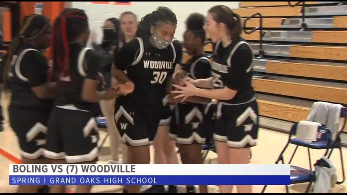 Woodville cruises past Boling into Quarterfinals