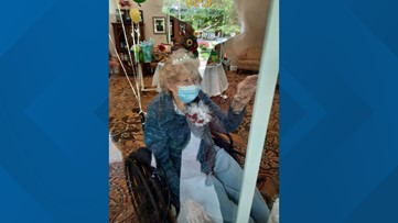 Woodville woman receives more than 105 cards for 105th birthday