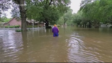 Calcasieu Parish hit with flash flooding after Tropical Storm Barry moves through Louisiana
