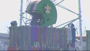 Downtown Orange is gearing up for Mardi Gras festivities this weekend