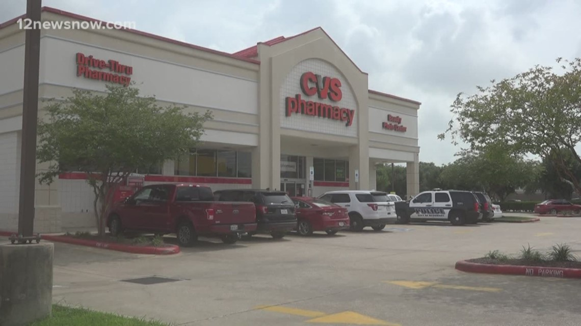 beaumont police searching for suspect following cvs robbery