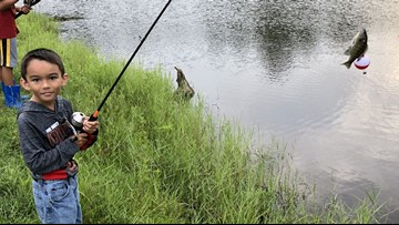 Free family fishing day set for last Saturday in June on Village Creek