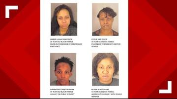 Port Arthur Police, U.S. Marshals looking for four with active felony warrants