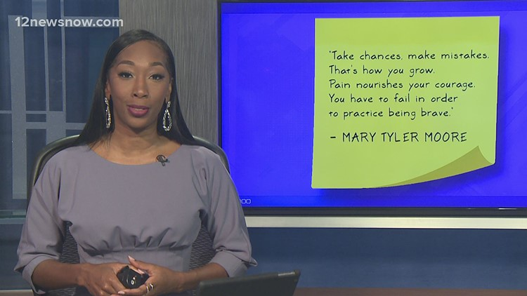 Daily Dose of DeJ: Don't Be Afraid to Fail