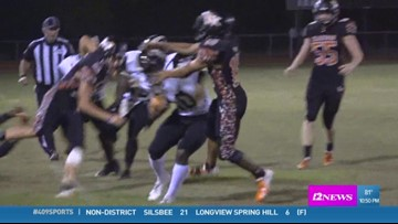 Woodville High School's Zack Martin makes the week 6 409Sports 'Ram Tough Hit of the Week'