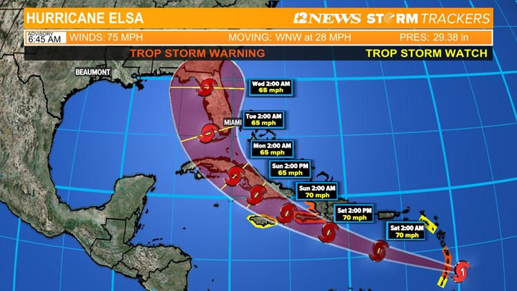 Hurricane Headquarters: Elsa has strengthened into a hurricane