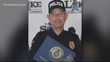Family: Sour Lake officer will spend weekends at home, continues to recover