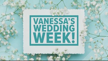 Vanessa's Wedding Week continues and it's all about the dress in this segment.