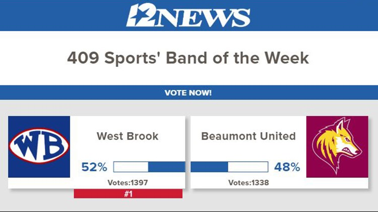 West Brook band of the week for week 6