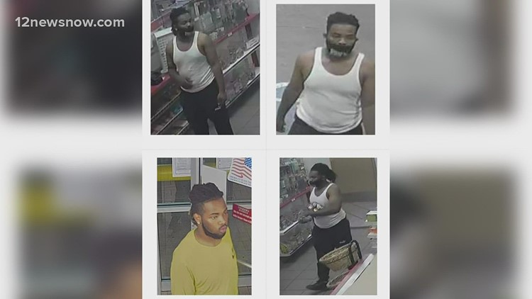 Have you seen them? 3 wanted by Port Arthur Police for car burglary