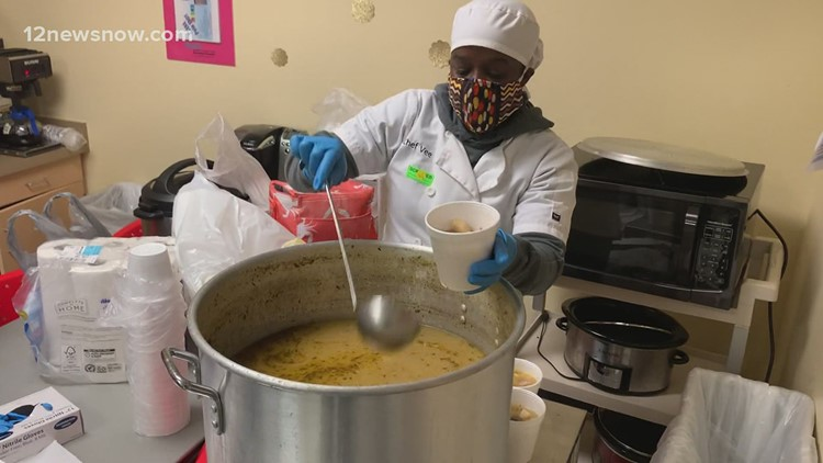 Beaumont non-profit, Save Our Children feeds displaced community, healthcare workers during winter storm