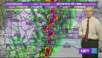 Friday, Saturday may bring severe weather, damaging winds