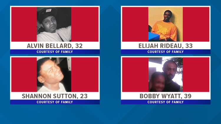 Victims in quadruple shooting