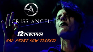 Win a pair of front-row seats to see magician Criss Angel in Beaumont