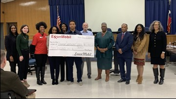 ExxonMobil donating $50K to Beaumont ISD for Imelda recovery, STEM education