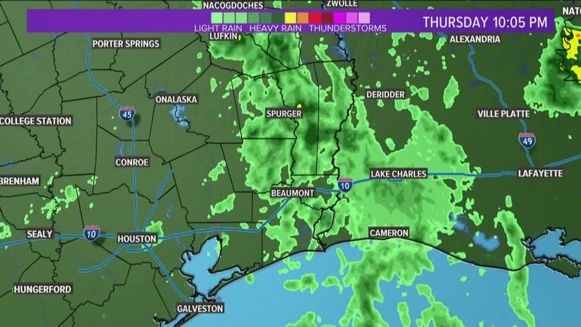 Southeast Texas almost finished with Imelda as rains taper, prepare to move out