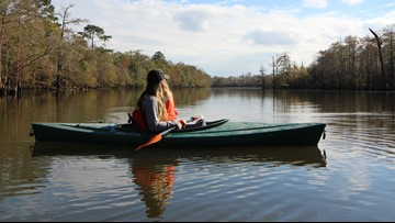 Big Thicket launches youth kayaking program, invites groups to come and explore