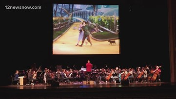 The Symphony of Southeast Texas shows 'Wizard of Oz' concert Saturday