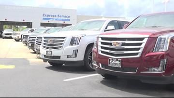 Thieves strike at Beaumont car dealership