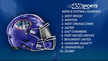 409Sports Football Rankings: Week 8
