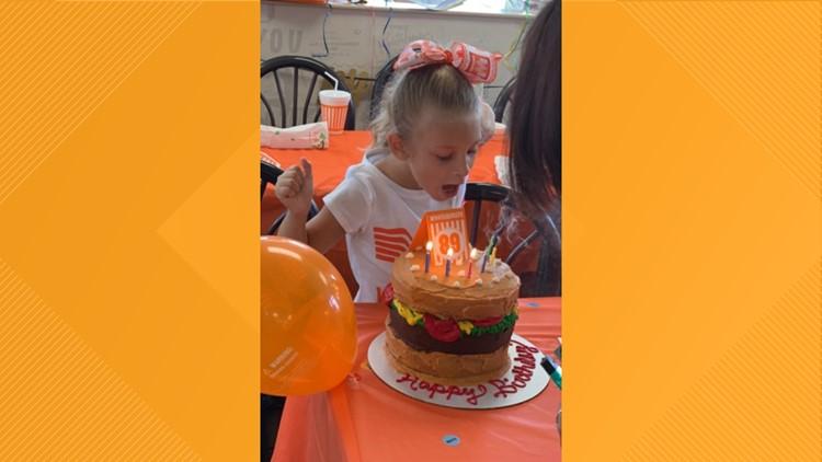 Whataburger birthday party Vidor