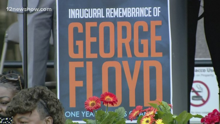 Southeast Texas leaders reflect on one-year anniversary of George Floyd murder