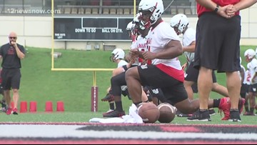 Lamar completes first workout of camp