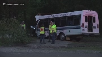 Teen in ICU, one dead after Tyler County church bus crash