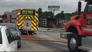 Houston man dead, Port Arthur man severly injured after fiery Orange County wreck on I-10