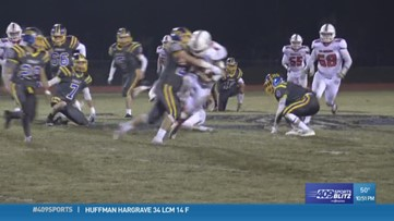 Evadale High School's Tyler Ferguson makes the week 10 Hit of the Week
