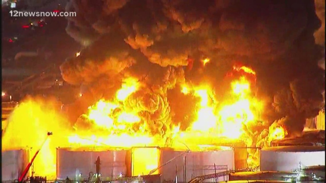 Texas Gas Prices >> Deer Park fire burns a third day at ITC facility ...