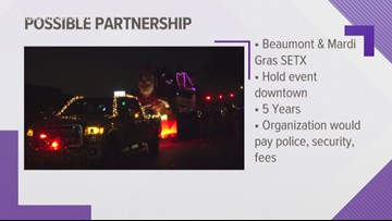 Meeting set for Tuesday on potential Beaumont Mardi Gras Southeast Texas move