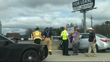 Rose City crash causes delay along I-10 East near exit 858
