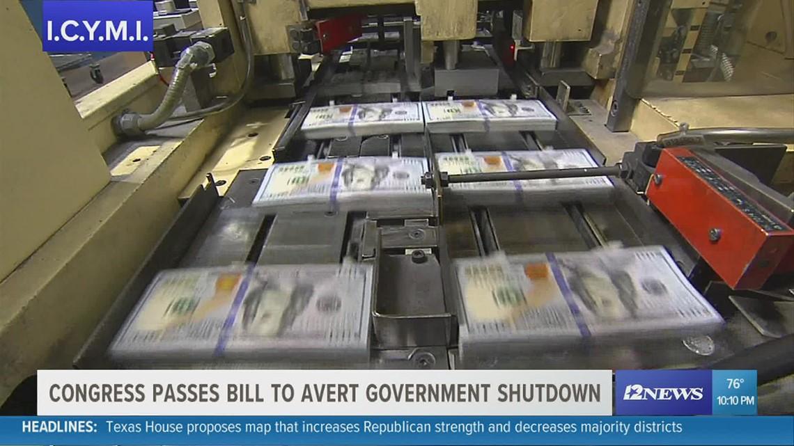ICYMI: President Biden signs bill preventing a government shutdown