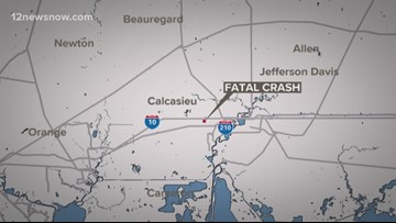 Driver going the wrong way causes 4-car crash, 1 fatality in Louisiana