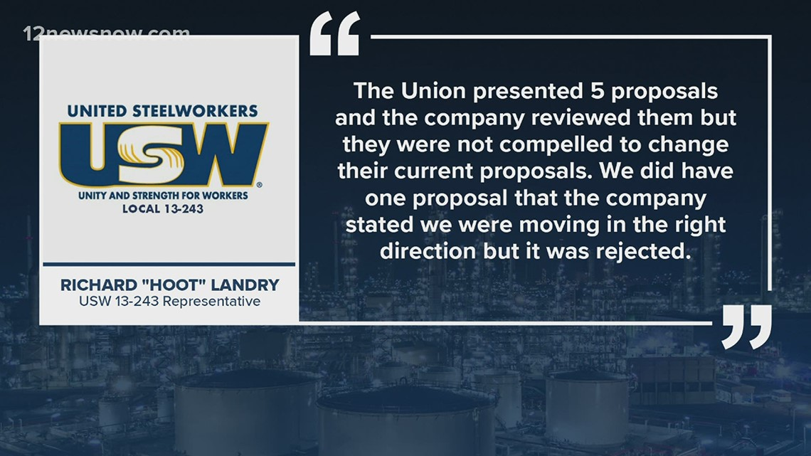 Negotiations continue after ExxonMobil, USW union fail to reach a deal at Tuesday meeting