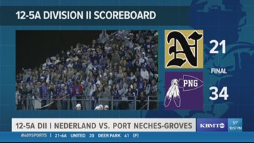 409Sports takes a second look at Port Neches-Groves High's Game of the Week win over Nederland 34 - 21