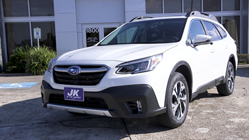 Here's a 2020 Subaru Outback we took out on a 12News Test Drive