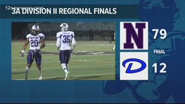 Newton cruises in 3A DII Region III Final 79-12