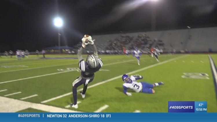 West Orange-Stark High School's Artavious Samuel makes the week 11 Play of the Week