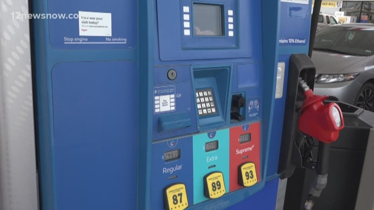 Tracking Barry: Gas prices surge in southeast Texas