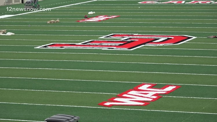 First signs of Lamar's move to the WAC seen on campus