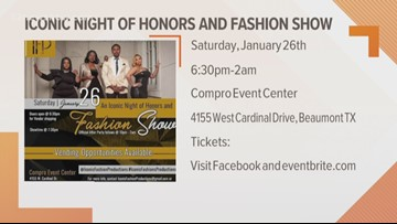 Fashion show coming to Beaumont this weekend