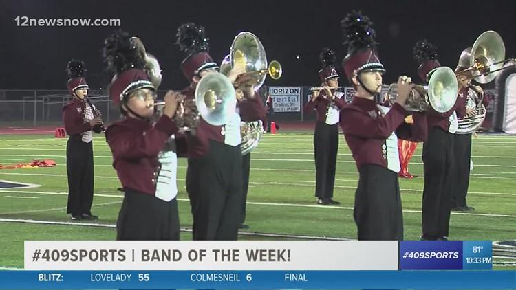 Silsbee High School wins Band of the Week for week 7