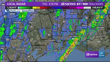 Tracking rain for the Thursday afternoon commute