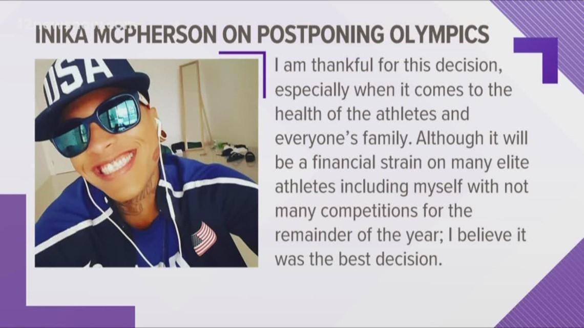 Port Arthur's Inika McPherson supports postponement of Tokyo Olympics