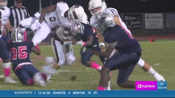West Orange-Stark's Lande Butler makes the week 7 'Ram Tough Hit of the Week'