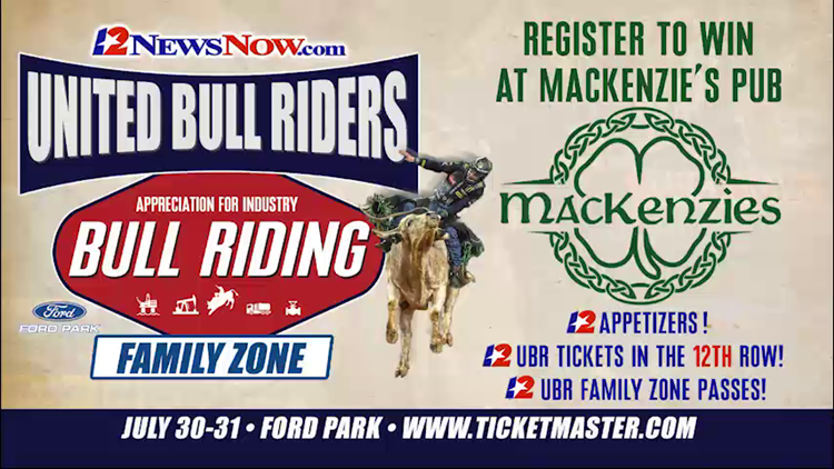 Win 12th row seats to see the United Bull Riders at Ford park