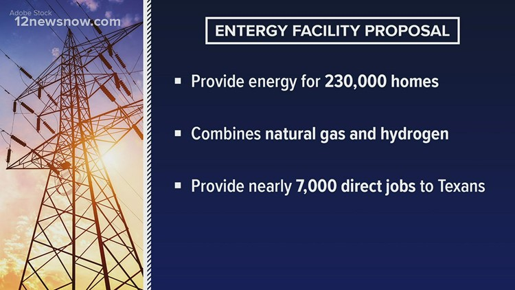 Entergy power station planned for Orange County would power 230K homes, bring jobs to Southeast Texas